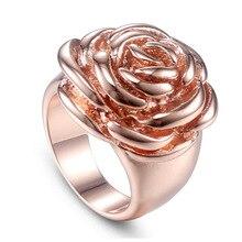 Jing JiangRing, женское Новое модное розовое золото, креативное розовое кольцо, ювелирные изделия из нержавеющей стали, кольца для женщин, подарок из теринга