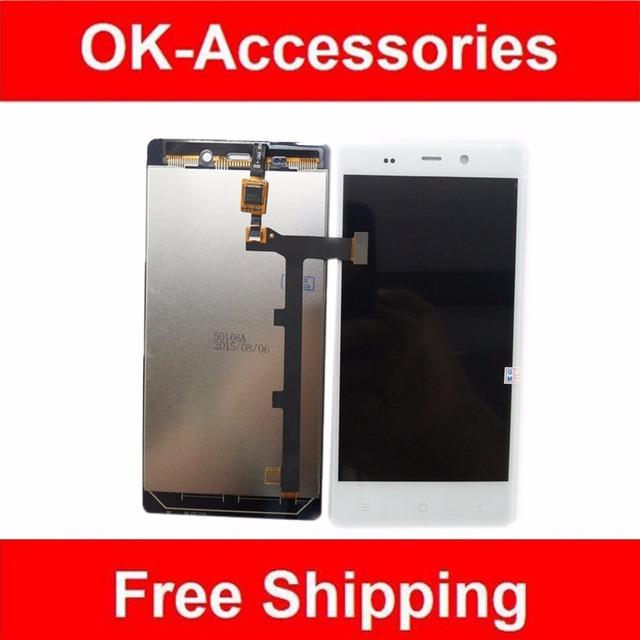 Black & White Color New Substituição Para Fly IQ453 IQ 453 display LCD + Digitador Da Tela de Toque 1 Pc/lote Frete grátis