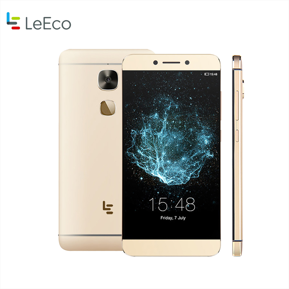 LeTV Lecoo S3 X522 Snapdragon 652 Octa Core 3GB 32GB 5.5 Inch 4G LTE 16MP with case earphone Fingerprint Mobile Phone