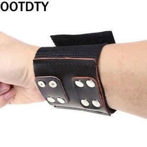 Image 1 - New Fishing Wrist Band Elastic Adjustable Wristband Protector Catapult Slingshot