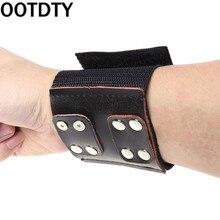 Nouveau bracelet de pêche élastique réglable bracelet protecteur catapulte fronde