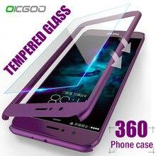 78d62c61a46 OICGOO 360 Graden Volledige Cover Case Voor Huawei P9 P10 P20 Lite Plus  Gevallen Met Glas Voor Huawei P20 Mate 9 10 Lite Pro Tel.