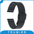 20 мм Ремешок Для Часов Из Нержавеющей Стали Smart Watch Band Браслет Ремешок для Motorola Moto 360 2 Gen 42 мм Samsung Gear S2 Classic SM-R7320