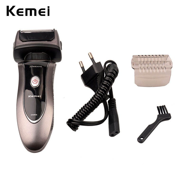 2016 new electric shaver epilator rechargeable rotary waterproof washable face care beard. Black Bedroom Furniture Sets. Home Design Ideas