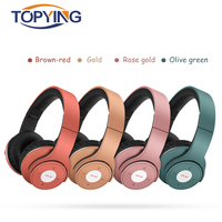 TOPYING Wireless Bluetooth Headphone Stereo Bluetooth 4 2 For Sport With Micro TF Card Noise Cancelling