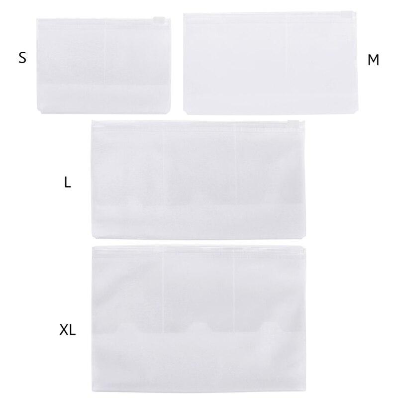 Notebook PVC Bag Document Holder Card Passport Transparent Bag Waterproof Holder Document Bags School Stationery