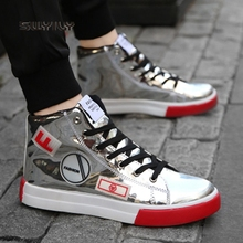 SWYIVY/мужские зеркальные кроссовки; большой размер 46; Новинка года; сезон весна-осень; обувь для скейтбординга на шнуровке; Мужская Спортивная обувь; светильник