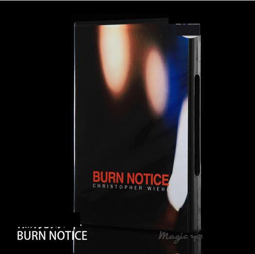 Us 9 99 Burn Notice Gimmicks With Instruction Receipt Trick Easy To Do Magic Trick Illusion Mentalism Magic In Magic Tricks From Toys Hobbies On
