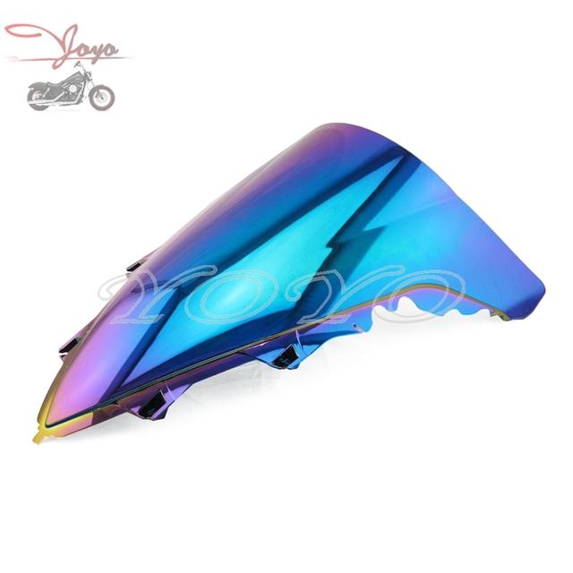 Windscreen brisa iridium motocicleta abs plástico colorido para yamaha yzf r1 yzf-r1 2009-2011