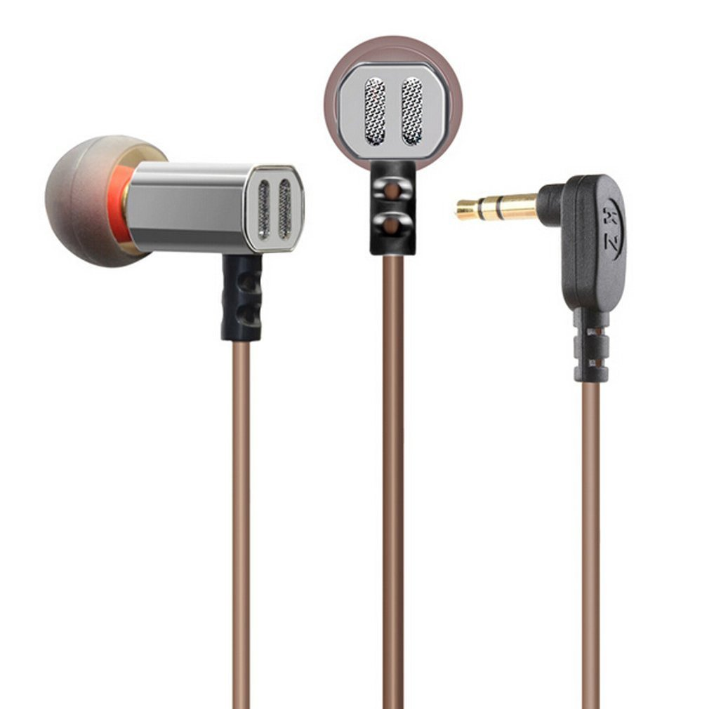 KZ ED9 Super Bass In Ear Music Earphone With DJ Earphones HIFI Stereo Earbuds Noise Isolating Sport Earphones With Mic AB15565 new original kz ate in ear earphones hifi metal stereo earbuds super dj bass noise isolating headset 3 5mm drive unit earbuds