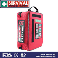SURVIVAL Medical First Aid Kit With FDA CE TGA SES01 HOME WORKPLACE KIT