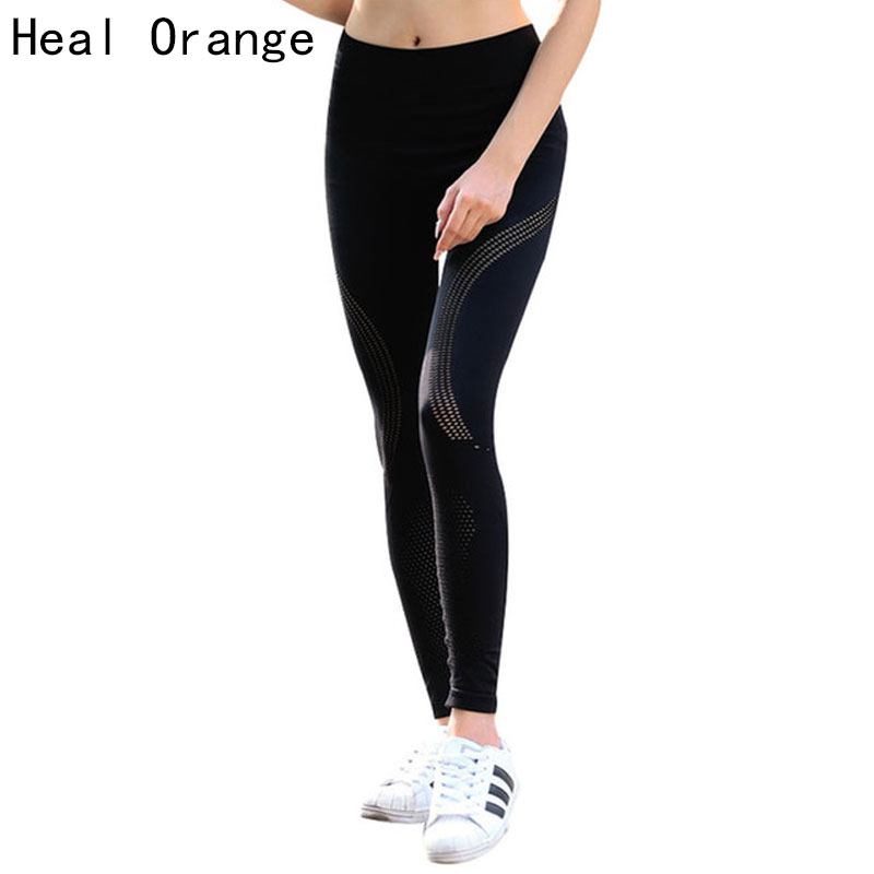 HEAL ORANGE Mujeres Yoga Pantalones Yoga Leggings Deporte Mujeres - Ropa deportiva y accesorios