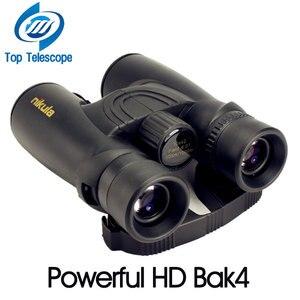 Image 4 - Nikula 10X42 משקפת חדש מקצועי חנקן עמיד למים טלסקופ רב עוצמה Bak4 ראיית לילה ציד היקף צבאי קומפקטי