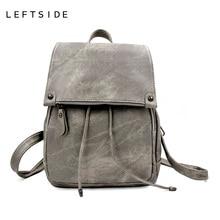 LeftSide 2017 школьные рюкзаки Новый корейский рюкзаки модные джинсовые женские рюкзак милые девушки парни сумки для школы дорожные сумки