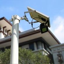 Billboard Güneş 54 LEDs Koyu Sensör Güneş Işık Solar Lamba Işık Spot Duvar Lambaları Projektör Açık Acil Sel Işık