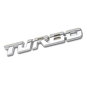 Image 3 - 3D Car Sticker Metal TURBO Emblem Body Rear Tailgate Badge For Ford Focus 2 3 ST RS Fiesta Mondeo Tuga Ecosport Fusion