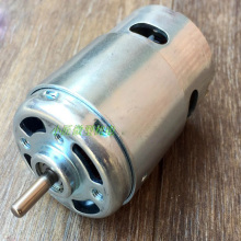 цена на 895 DC Motor, High Torque, High Power Generator, Ball Bearing Motor, DC 12-24V, Low Speed, 775 Upgraded Motor