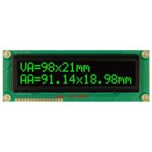 큰 화면 1602 큰 문자 큰 크기 흰색 녹색 oled 디스플레이 모듈 ws0010 직렬 spi 병렬 영어 러시아어 글꼴