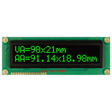 larger screen 1602 large character big size white green oled display module ws0010 serial spi parallel English Russian font