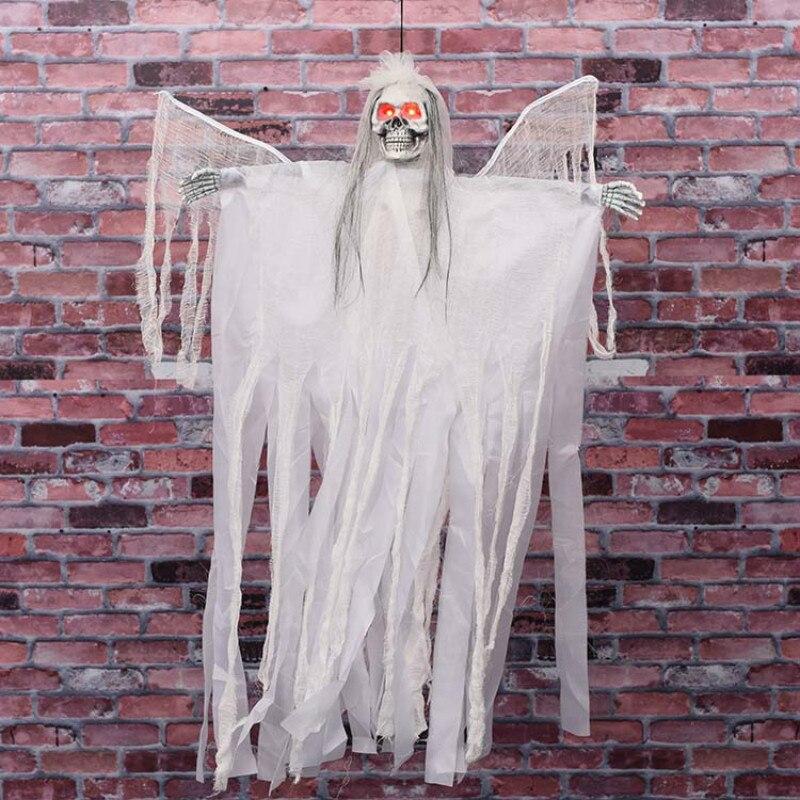Halloween fête décoration ailes électriques sorcière Halloween intérieur suspendu décoration contrôle sorcière