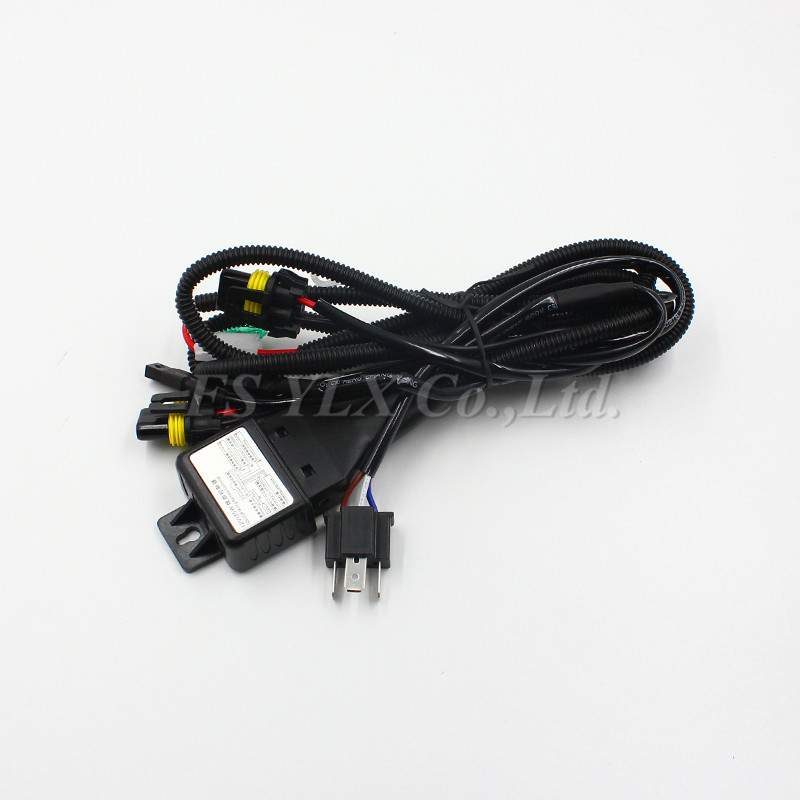 FSYLX 12V 35W 55W 75W HID Bi xenon H4 Wire Harness Controller for Car Headlight Retrofit fsylx 12v 35w 55w 75w hid bi xenon h4 wire harness controller for  at bakdesigns.co