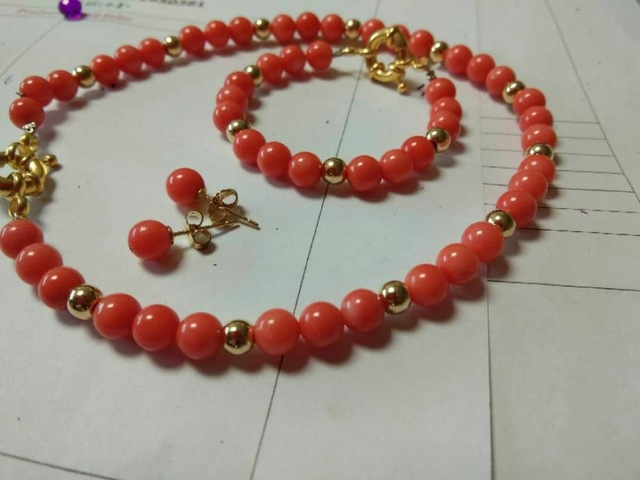 2019 New Design Coral Jewelry Sets for Women YQ9972019 New Design Coral Jewelry Sets for Women YQ997