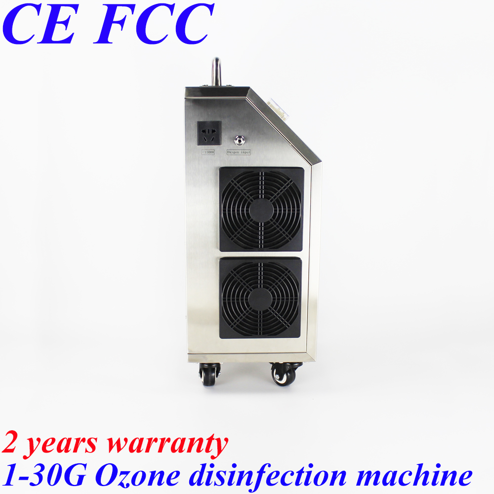 цена на Pinuslongaeva CE EMC LVD FCC Factory outlet 1-30g Movable ceramic quartz tube ozone machine ozonator for water and air treatment
