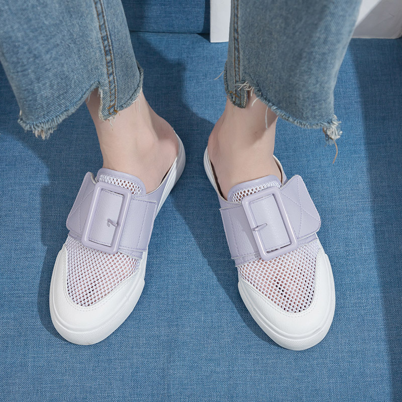 top Brand Ladies Shoes 2018 Summer Comfort, Breathable, Weary, Lazy Shoes, Fashionable, Elegant, And Simple Womens Shoes.