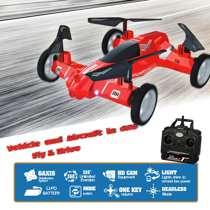 ФОТО DWI Dowellin RC Drone With Camera With USB Cable RC Car Vehicle Toys Quadcopter 480P/720P Resolution Photo Video Flying Cars