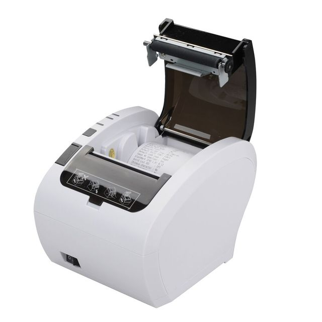 Livraison gratuite point de vente pos système résistif écran tactile pos terminal écran tout en un système epos avec imprimante caisse