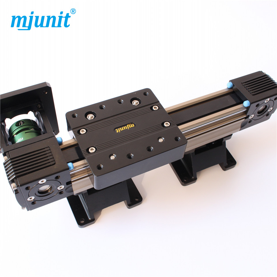 MJ45 Mechanical linear unit with belt drive for higher moments linear guide way