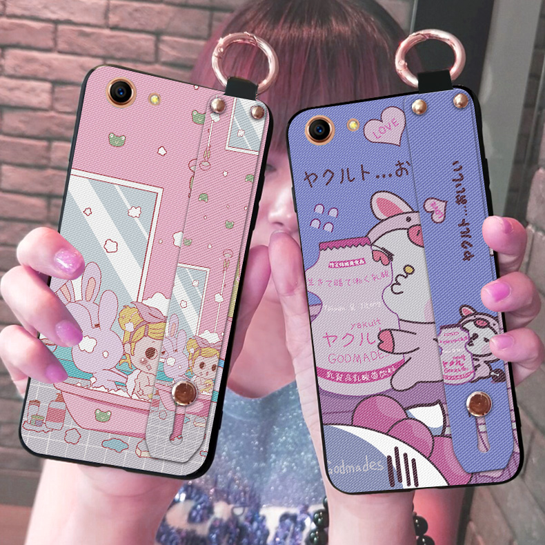Cartoon Animal Phone Case For OPPO F1S A59 A83 A1 A3 A5 Holder Strap Bag Cover Cases For OPPO F3 PLUS F3 A77 F5 A73 A79 F7 F9