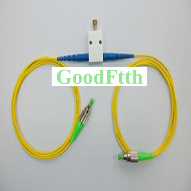 Fiber Optic Variable Online Attenuator FC-FC APC FC/APC-FC/APC SM GoodFtth VOA 1-15dBFiber Optic Variable Online Attenuator FC-FC APC FC/APC-FC/APC SM GoodFtth VOA 1-15dB