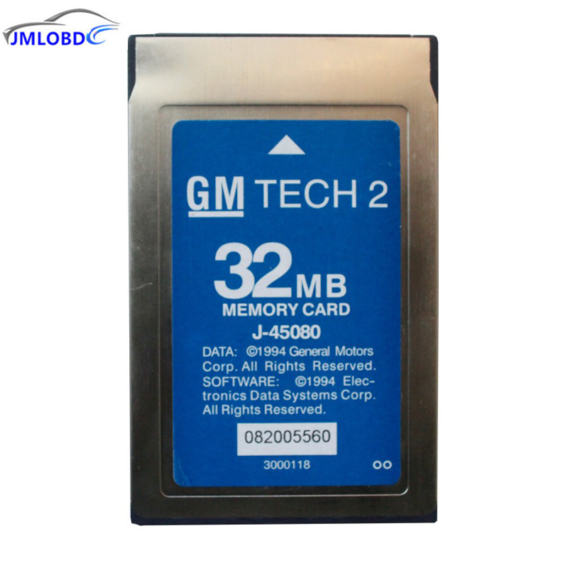 2018 Newest Professional 32MB Card For G-M Tech2 6 Software Optional MB Memory G-M Tech 2 Card for O-pel/S-AAB/H-olden/Suzuk-i