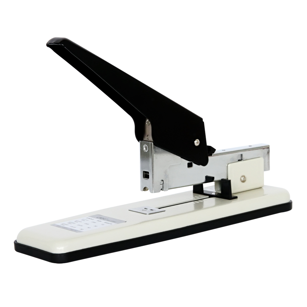 office supplies Strength thick stapler deli 0394 can bind heavy papers 80sheets Thickness binding jumbo heavy duty stapler 210 sheets deli stationery thick layer deli 0383 heavy duty manual jumbo stapler large thickening effortless heavy duty stapler