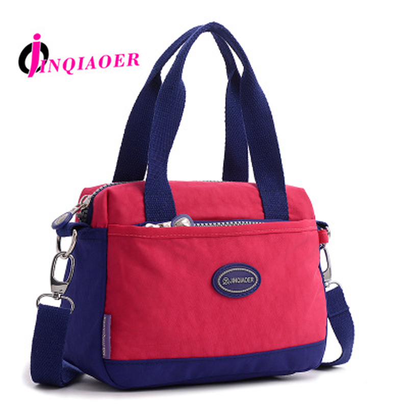 JINQIAOER Woman Nylon Bag Women Shoulder Bags For Women Handbag Female Messenger Bag Ladies Crossbody Bags Bolsa Feminina WH362 jinqiaoer woman nylon bag women messenger bags for women handbags shoulder bag large capacity stroller bag bolsa feminina wh392