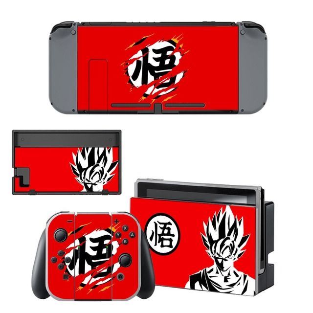 Dragon Ball Nintend Switch Skin vinilo NintendoSwitch stickers Compatible with Nintend Switch Console and Joy-Con Controllers