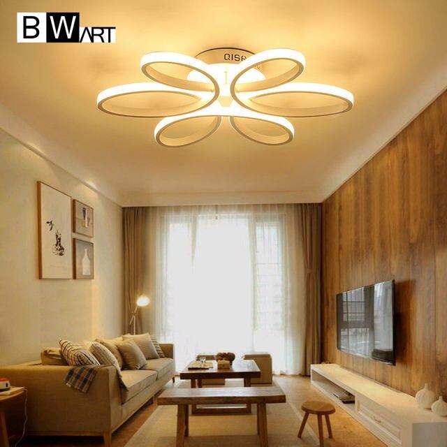 Online Shop BWART New modern led lampadario per soggiorno camera ...