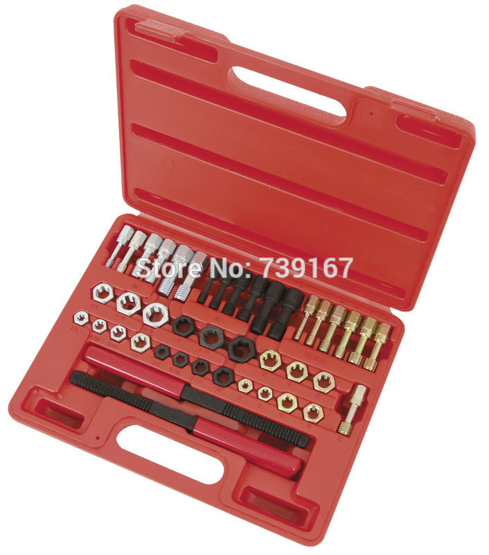 Damaged Thread Restore Repair Tool With Metric MM Taps Dies Set ST0113 dreld 30pcs metric mini taps dies set m1 m2 5 screw thread plugs taps alloy steel screw taps with tap wrench hand tools set