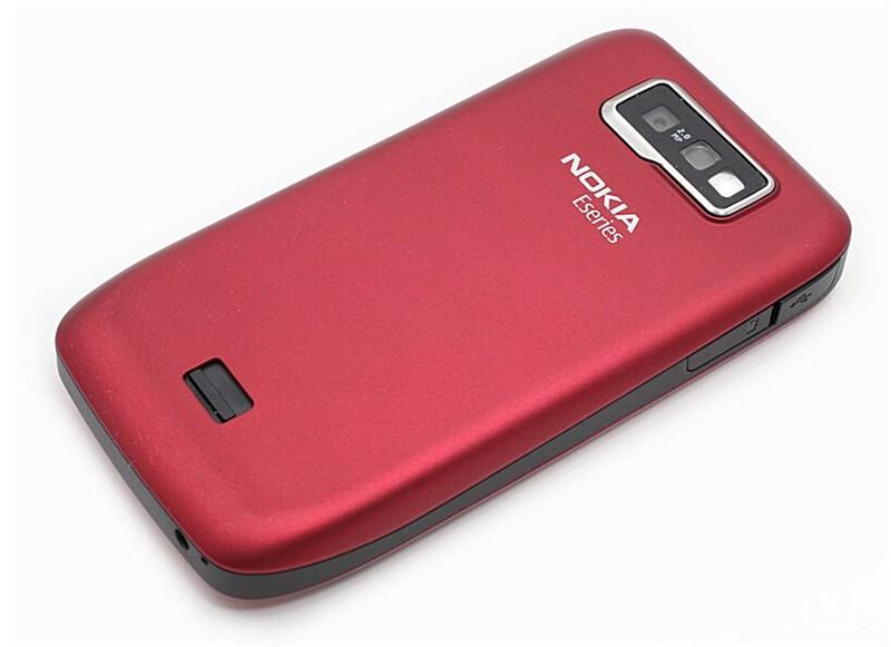 Refurbished phone NOKIA E63 cell phones 3G WIFI Bluetooth 2MP CAMERA  PHONE blue 3