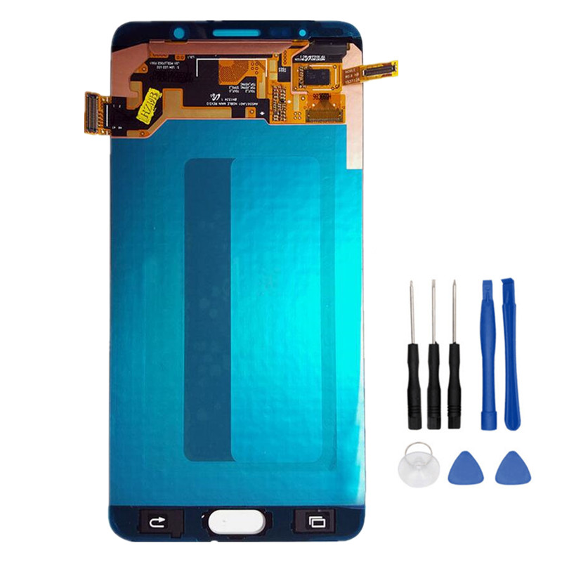 5.7 Schermo Amoled Touch Screen Digitizer Assembly Per Samsung Galaxy Note 5 Note5 N9200 N920F N920A N920T N920C N920V N920W8 LCD + Strumenti5.7 Schermo Amoled Touch Screen Digitizer Assembly Per Samsung Galaxy Note 5 Note5 N9200 N920F N920A N920T N920C N920V N920W8 LCD + Strumenti