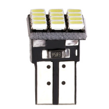 цена на T10 W5W 12SMD 1206 Car Wedge White LED DC 12V Canbus No Error Car External Lights License Plate Corner lamp Backup Lamp