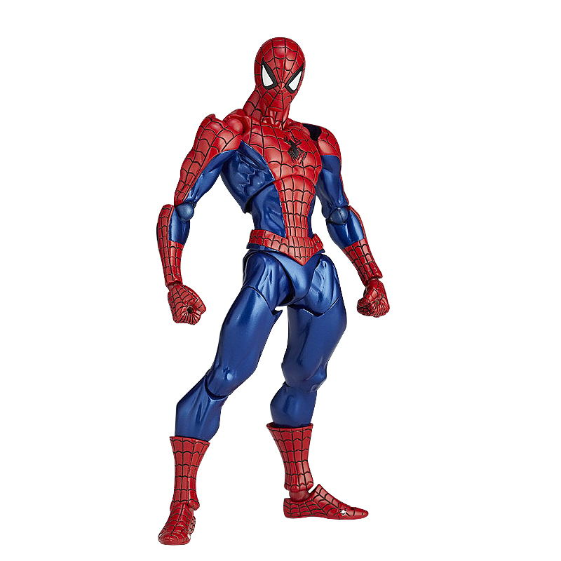 JueJue 1pcs/set Magic Spider-Man Amazing SpiderMan Avengers Action Figures Hot Toys Super Hero Marvel Figma PVC 16cm Model Gifts пластилин spider man 10 цветов
