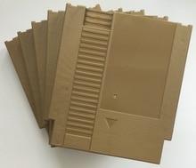 Cor dourada 72 Pinos Jogo Cartucho de Substituição De Plástico Shell Para NES Console