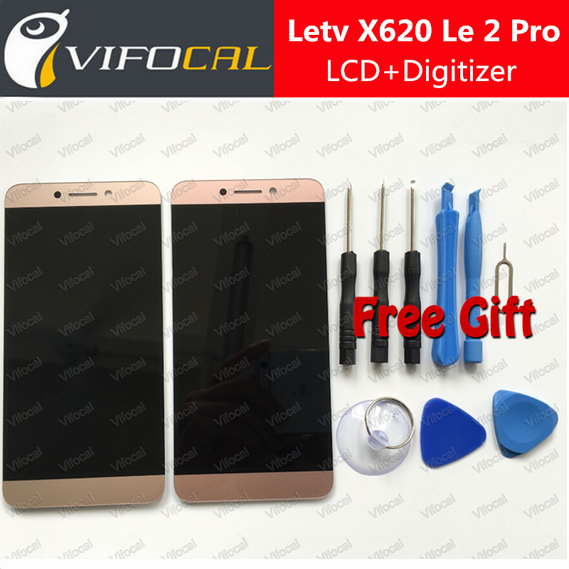 ФОТО For Letv X620 LCD Display Touch Screen + Tools Digitizer Assembly Replacement For Letv LeEco Le 2 X620 Le 2 Pro X520