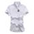 Gola mandarim Camisa de Manga Curta Homens 6XL 7XL Tamanho grande 2017 Moda Estilo Verão Men Casual Camisa DT513