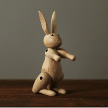 Decorative Wooden Rabbits For The Home