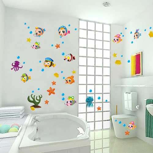 Pegatinas Para Baño | 1 Unidades 27 43 Pulgadas Calcomanias Pvc Extraible Under The