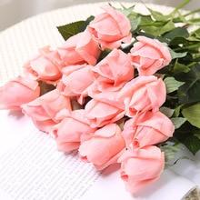 Klonca Высококачественная романтическая ткань 45 см 1 шт. искусственный цветок «Роза» поддельные цветы для свадебного дома вечерние украшения