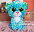 "Free shipping! ty Glamour - leopard  5"",Baby toy Stuffed Plush toy Big Crystal Eyes,Gift for Children,Baby Doll Classic Toys"
